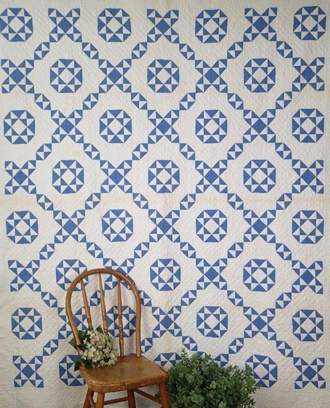 עיצוב בכחול לבן 08