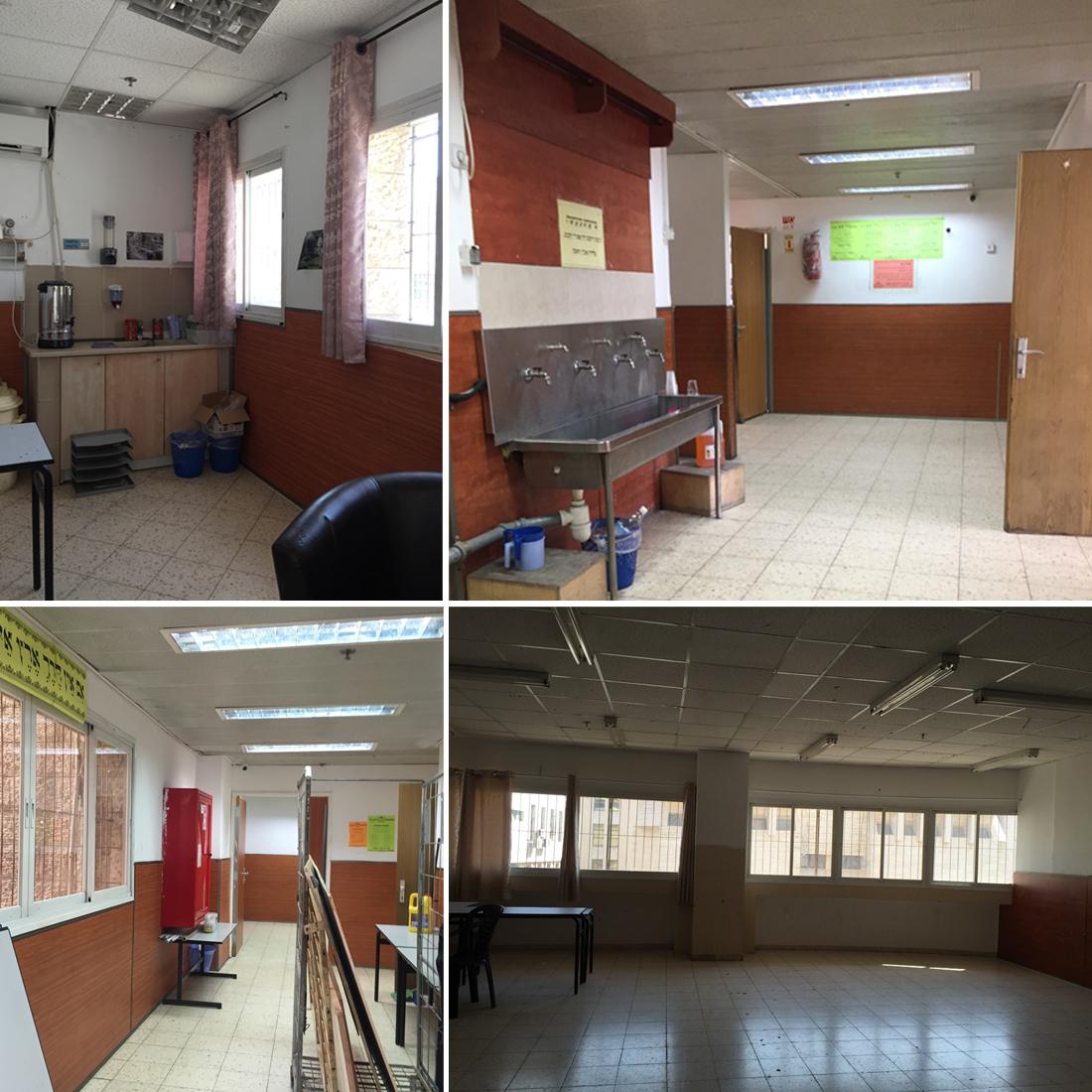 משרדי טריבייס_מצב לפני השיפוץ