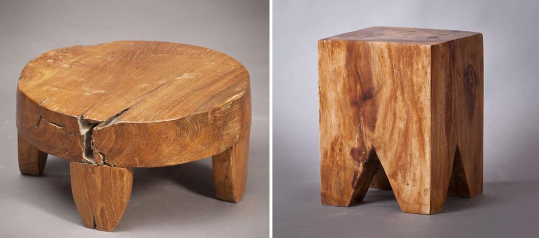 שרפרף מעץ מלא - פריטים מעוצבים לחורף מפנק studio in2