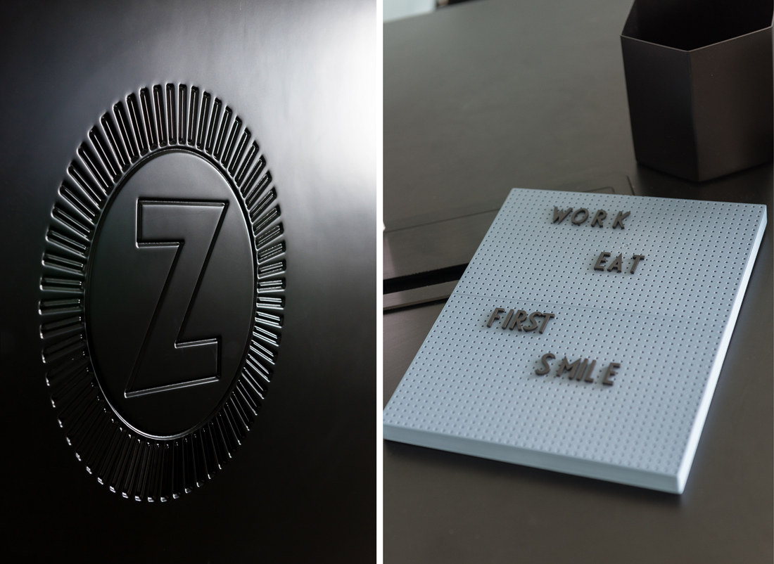 עיצוב משרדים, זוזוברה