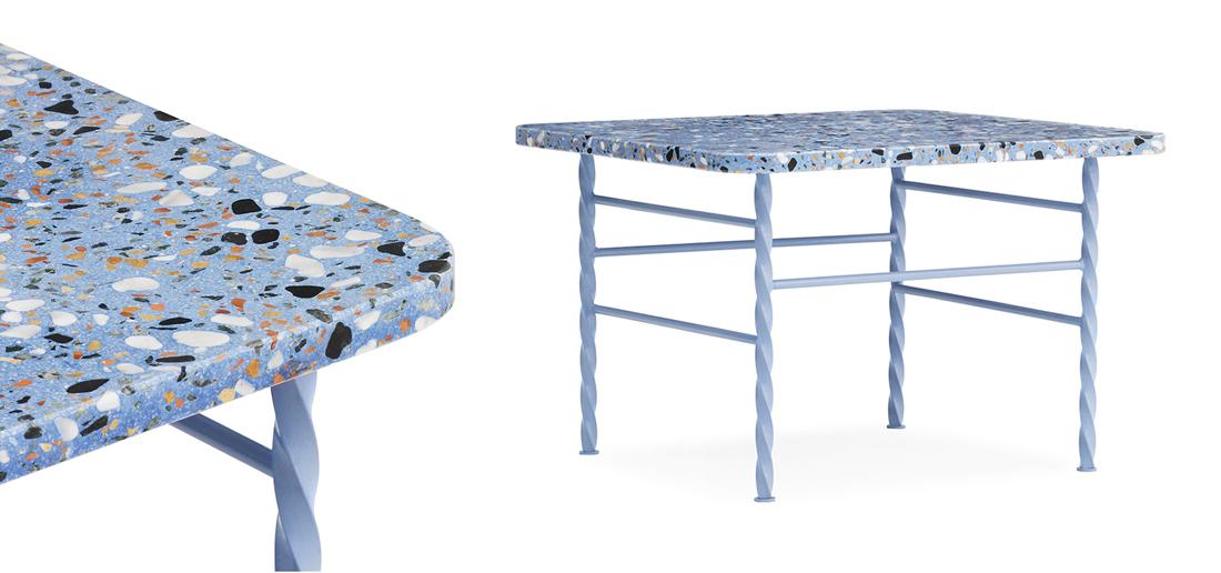פריטים דקורטיביים מטראצו, טראצו בעיצוב הבית, שולחן טראצו, סטודיו IN2