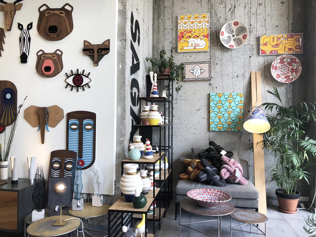 גלריה סאגה, סאגה יפו, עיצוב ישראלי, עיצוב מקומי, עיצוב מוצר, סטודיו IN2, אלנה וגאב