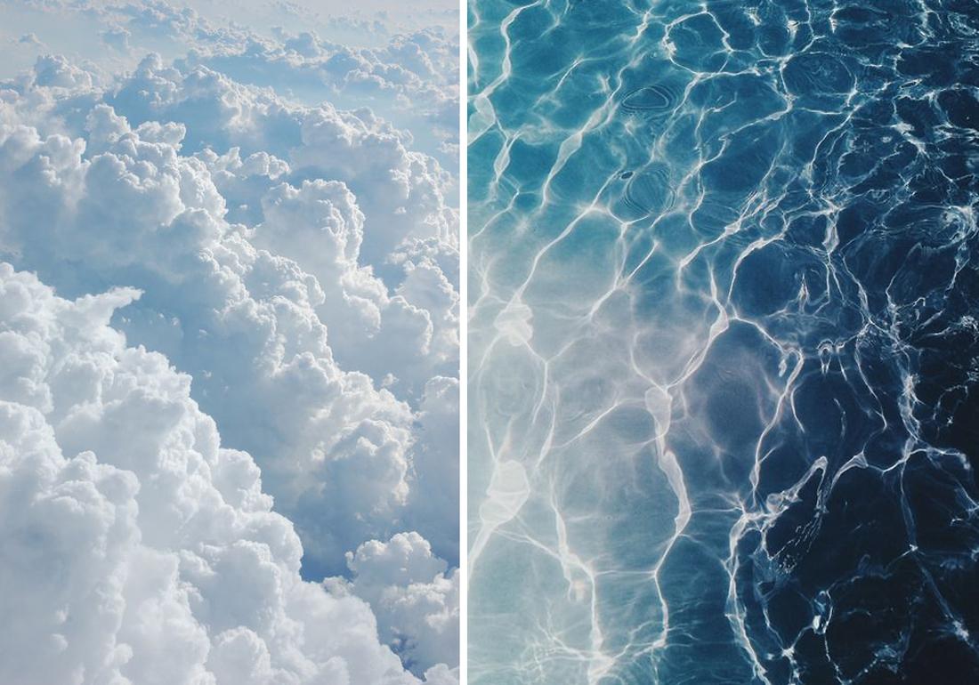 עיצוב בכחול ולבן 01