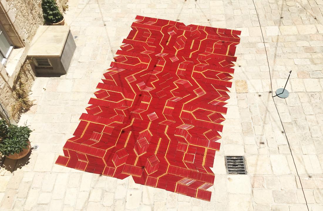שבוע העיצוב ירושלים, JDW2017, we make carpets, סטודיו IN2