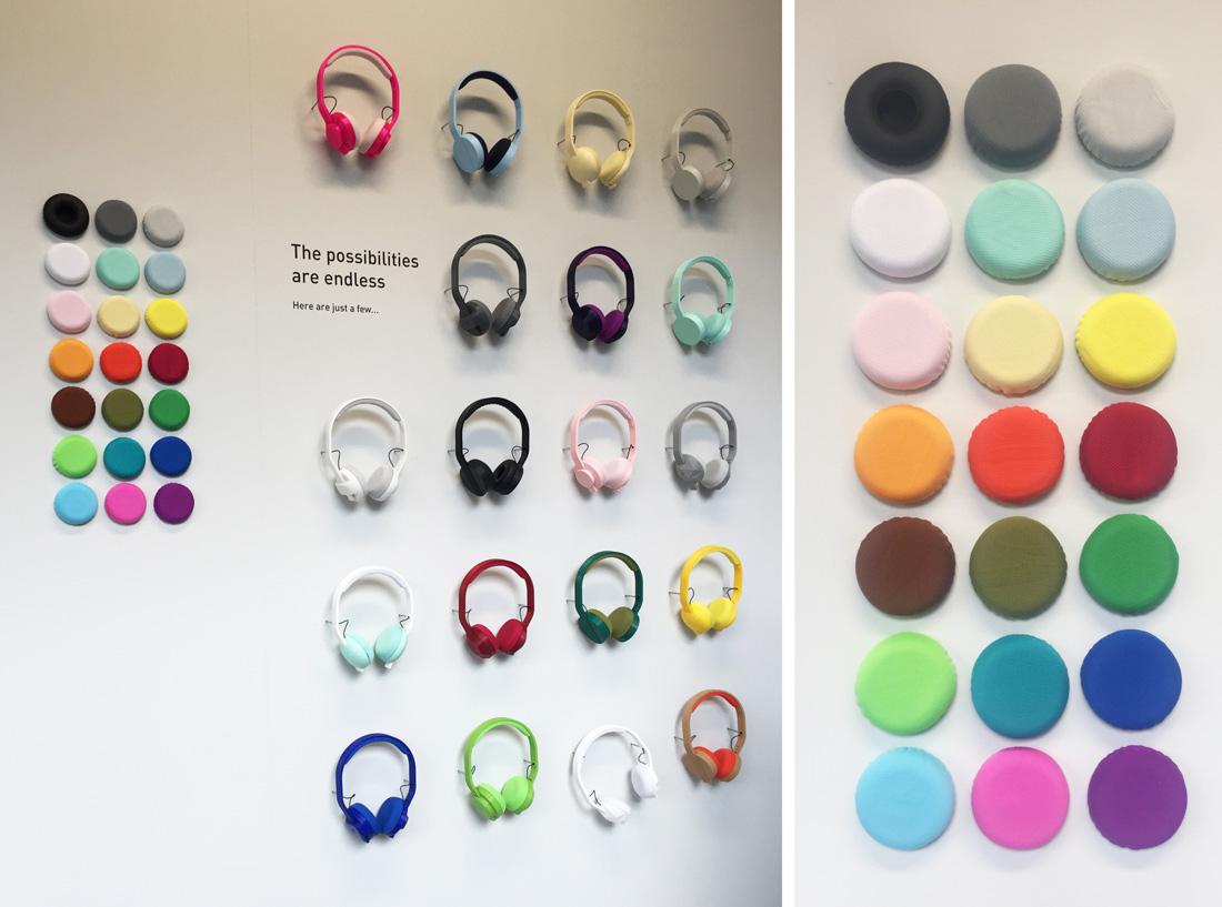 שבוע העיצוב באיינדהובן, שבוע העיצוב ההולנדי, DDW, dutch design week, print+ headphones