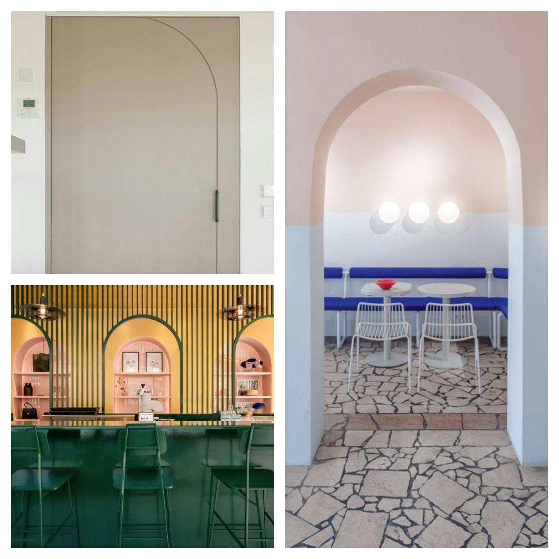 טרנדים בעיצוב ל 2019, טרנדים בעיצוב פנים, design trends 2019, arches