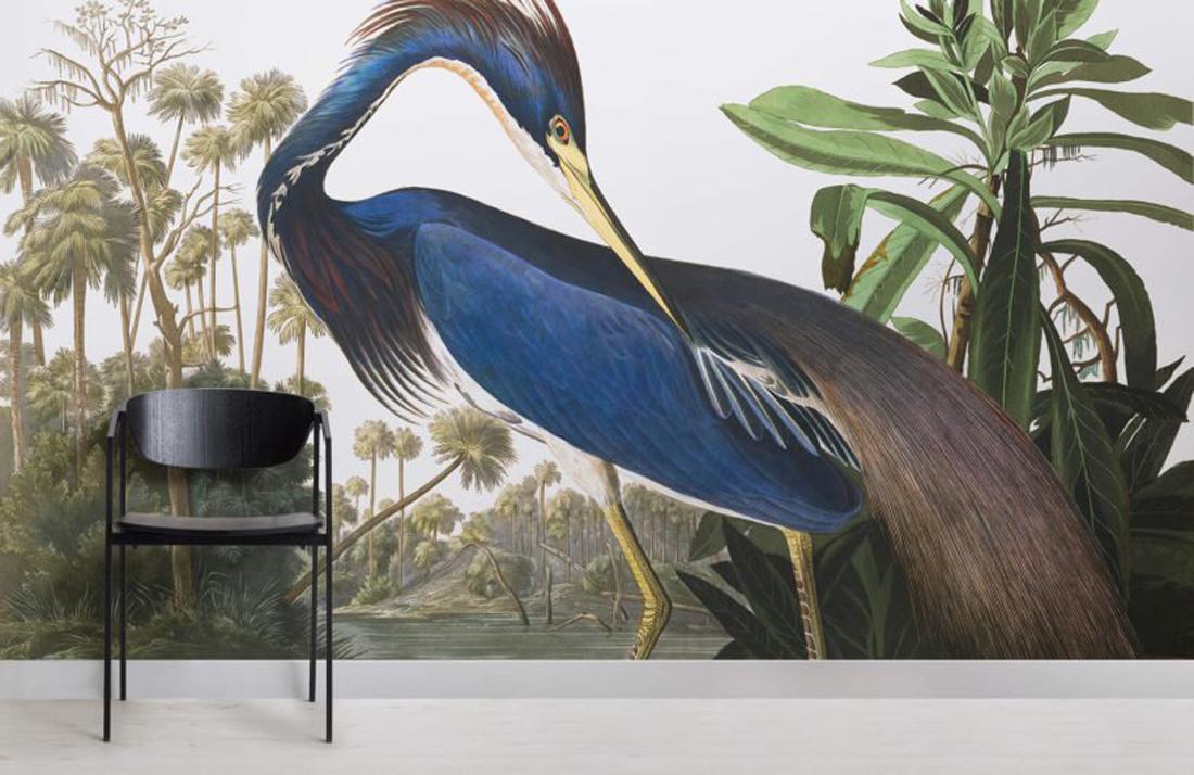 טרנדים בעיצוב ל 2019, טרנדים בעיצוב פנים, design trends 2019, bold pattern wallpaper