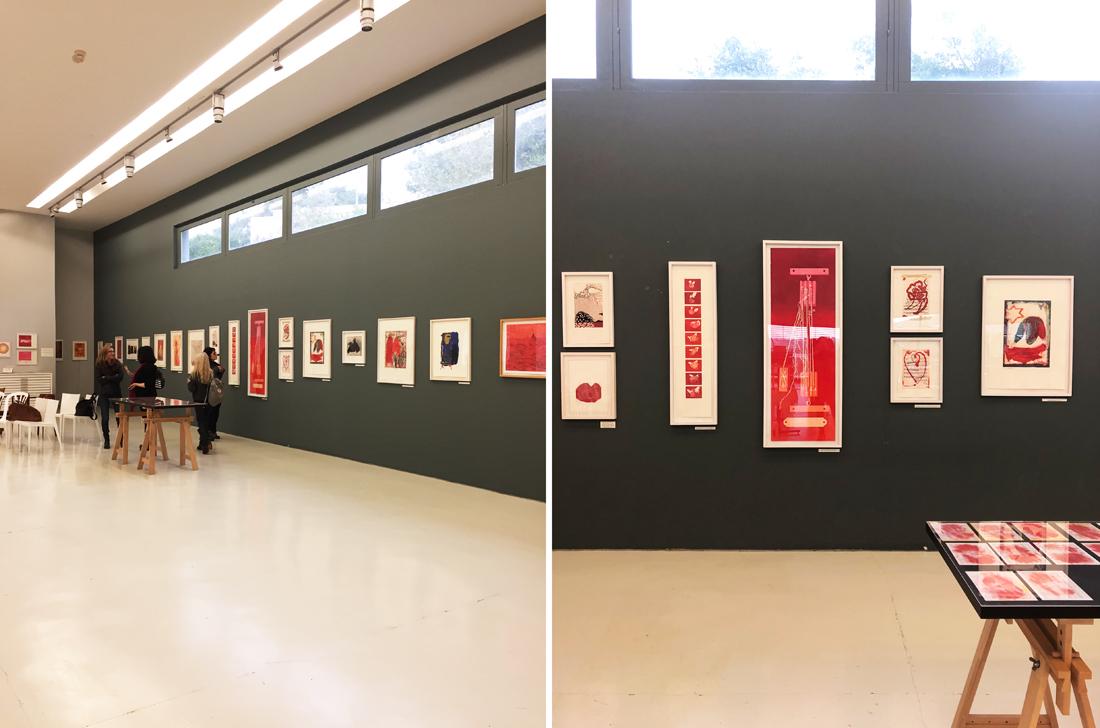 מקומות בגליל המערבי, עיצוב בגליל, סיור בלוגריות, מרכז גוטסמן לתחריט, סדנת הדפס כברי